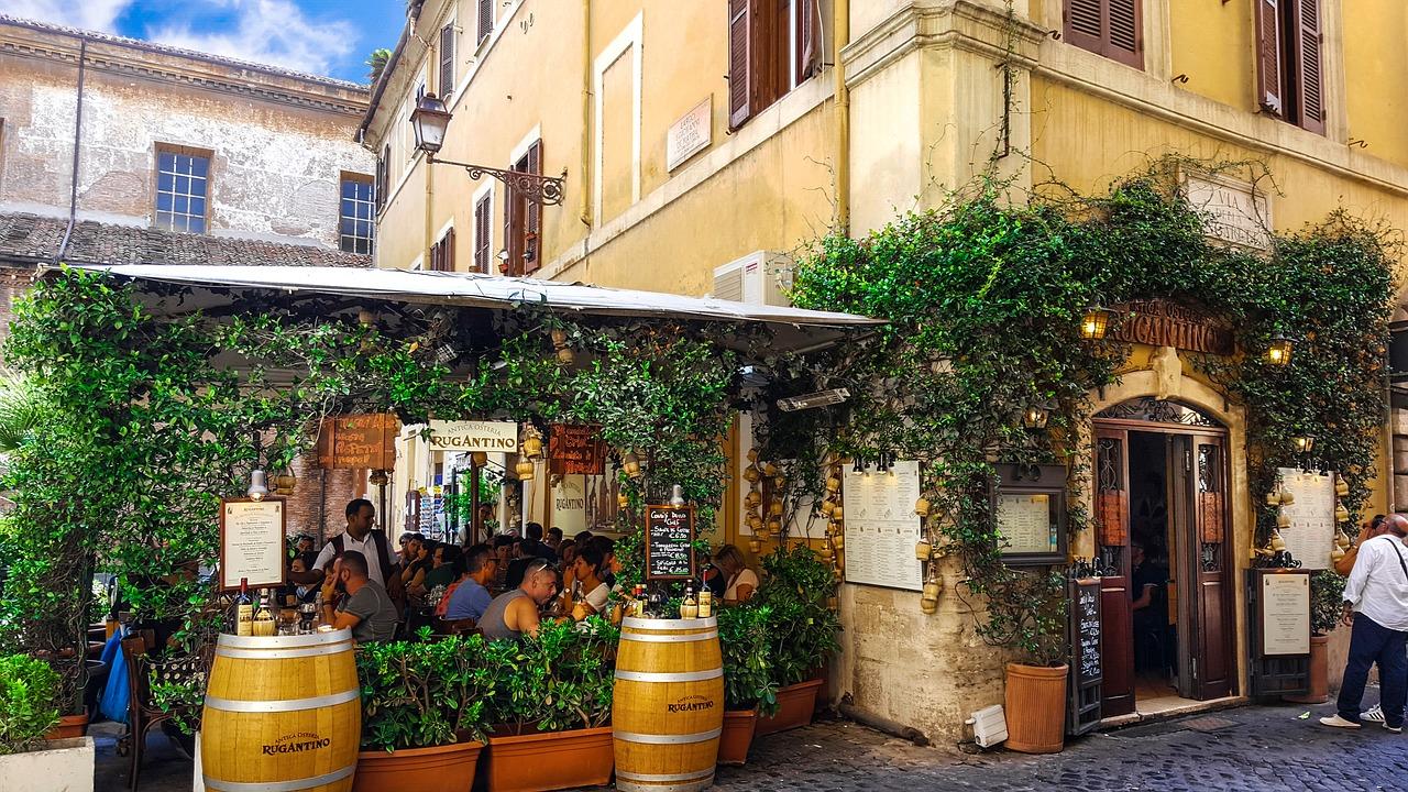 Hvor skal man spise i Rom?