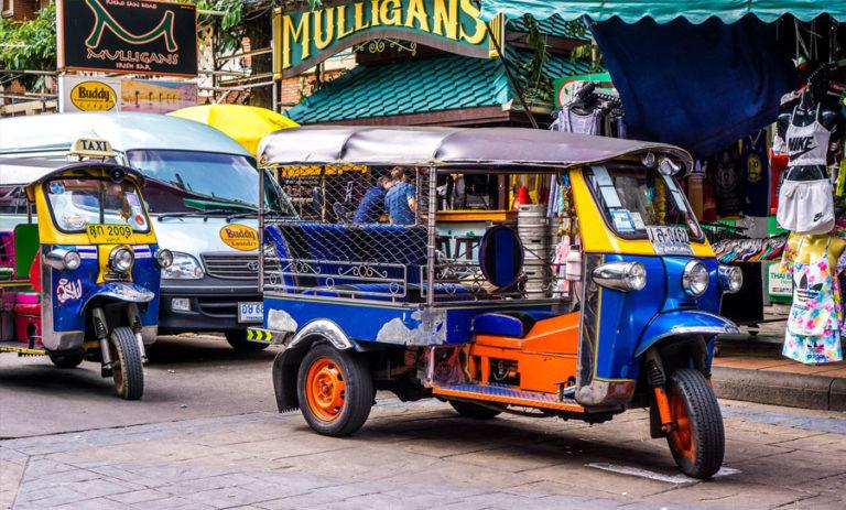 Rejse til Bangkok