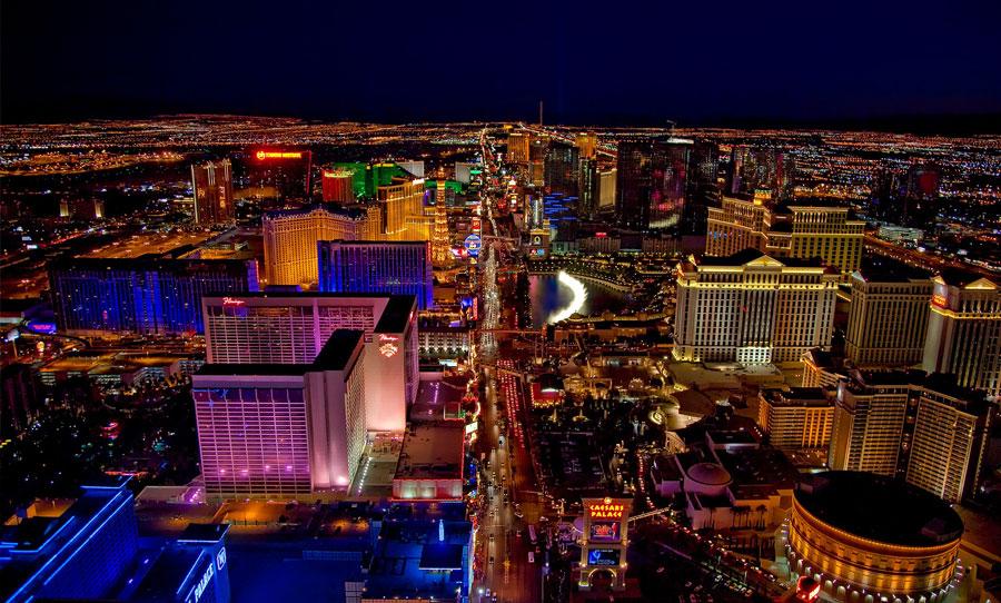 Rejse til Las Vegas