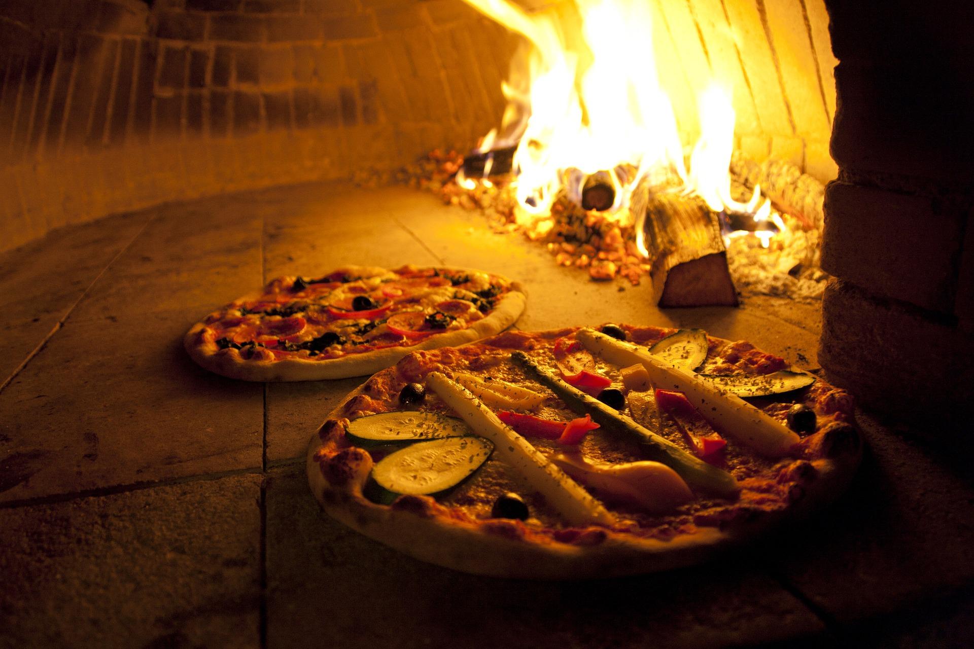 Pizza i Napoli
