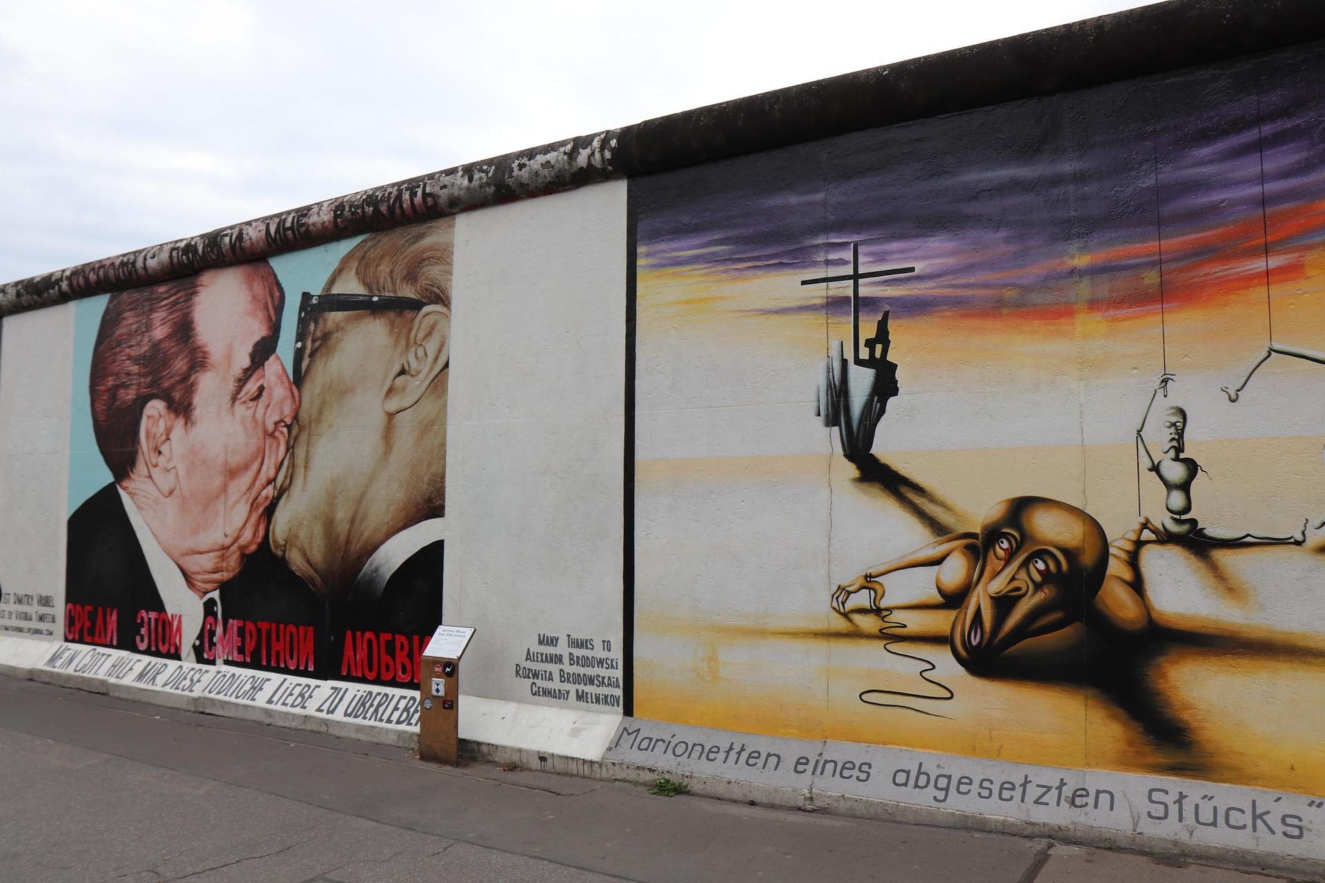 Seværdigheder i Berlin - Berlinmuren