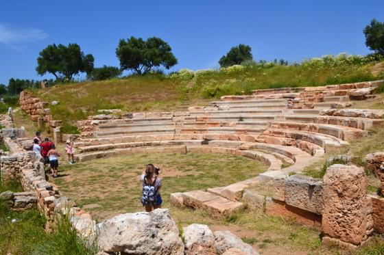 Aptera-fæstningen Kreta