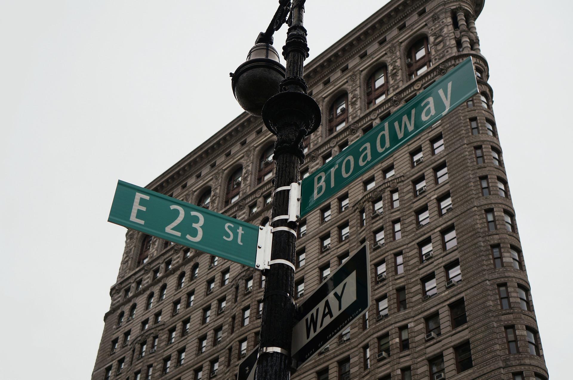 New york seværdigheder - broadway