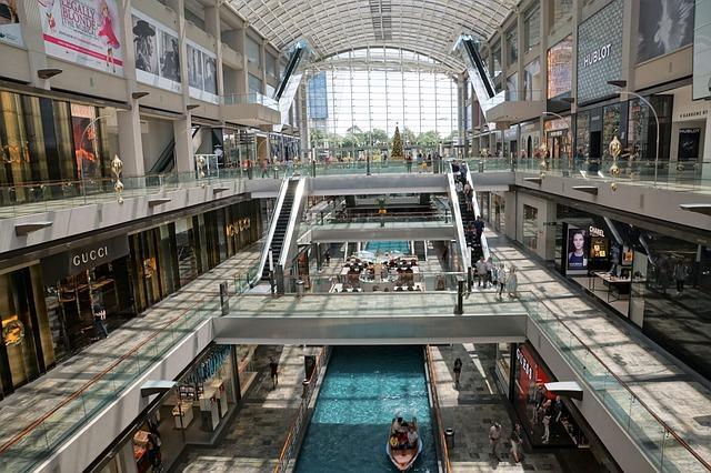 Shopping i Singapore