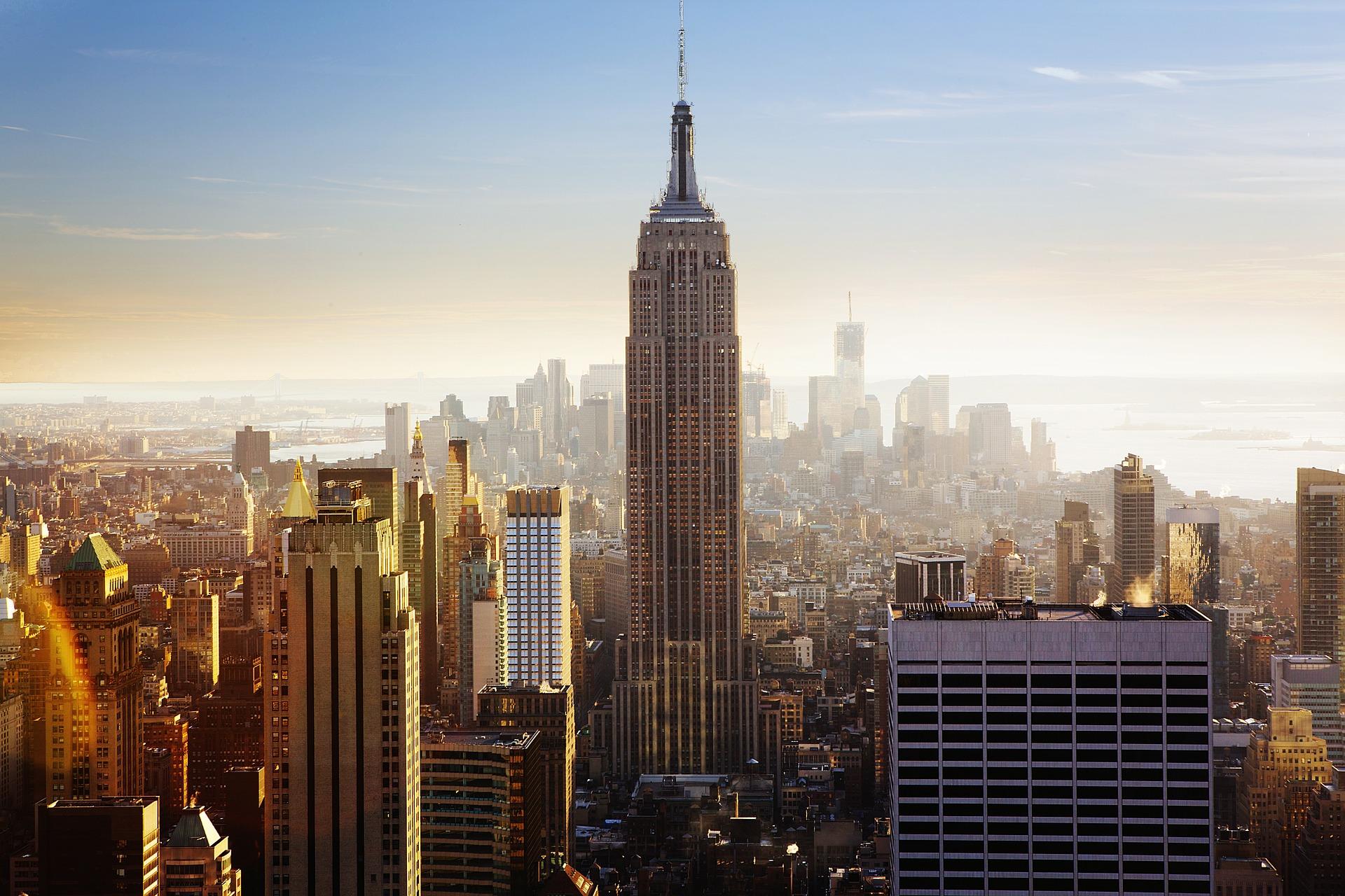 New York seværdighed - empire state building