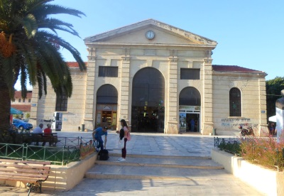 Markedshallen Chania Kreta