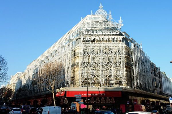 Shopping i Paris
