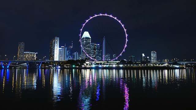 Pariserhjul i Singapore