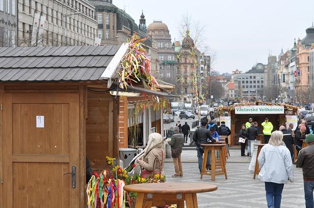 Markeder i Prag