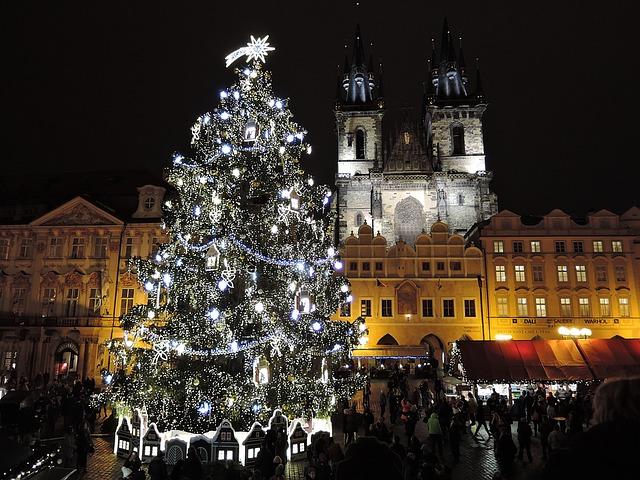 Vinter i Prag