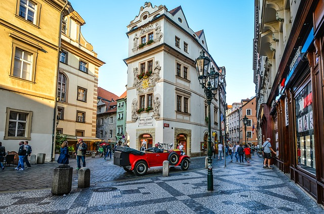Mærkevarebutikker i Prag