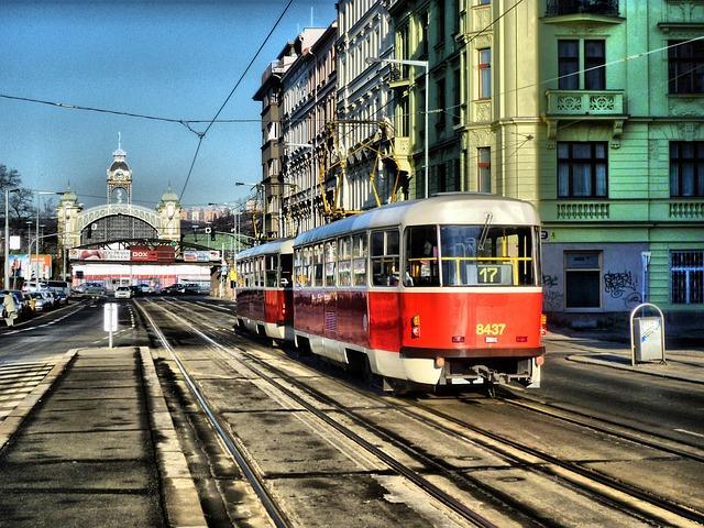 Rejse til Prag, sporvogn