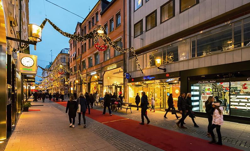 Shopping i Stockholm