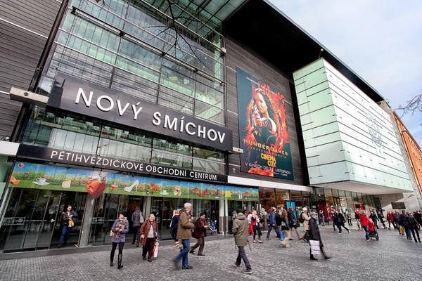 Shoppingcentre i Prag