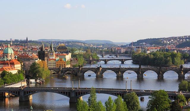 Vejret i Prag