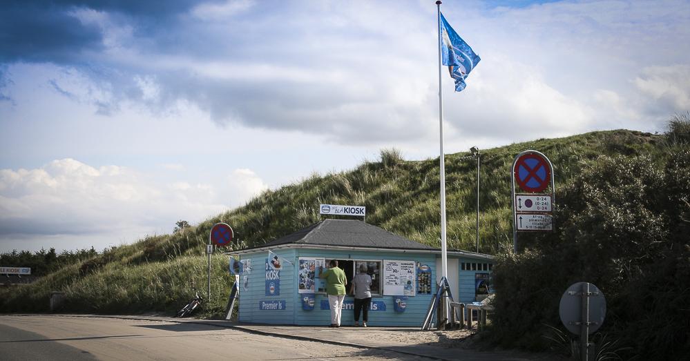 Det blå ishus, Danmarks bedste is