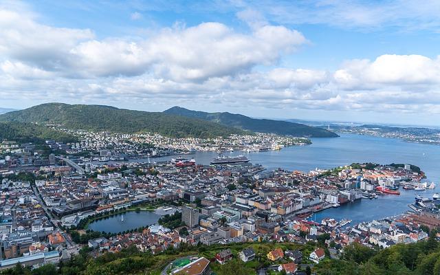 Weekendtur til Bergen, Fløibanen og Fløyen.