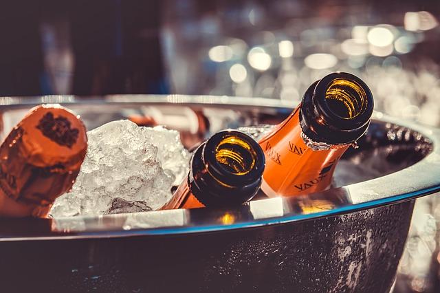 Nytår i London - Champagne