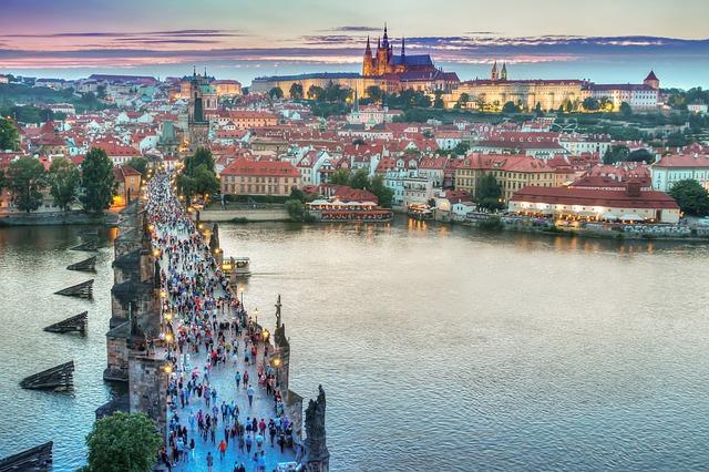 Prag, Karlsbroen.