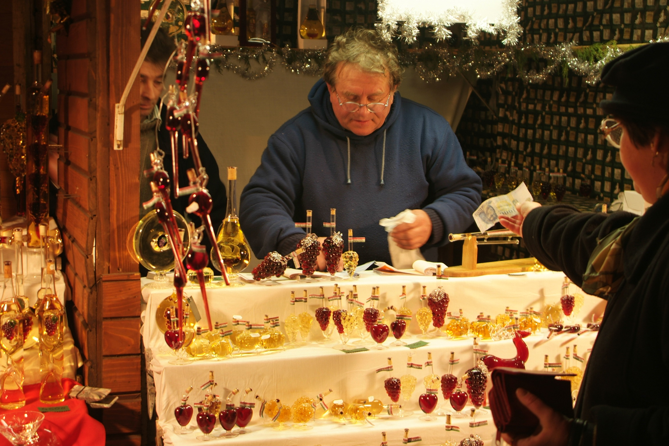 Julemarked i Budapest