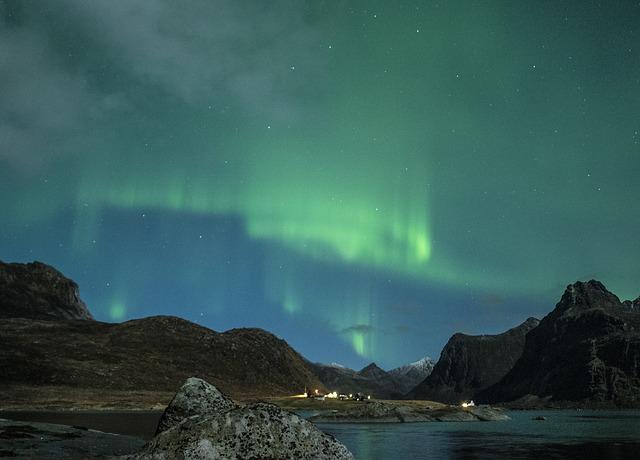 Nordlyset i Lofoten