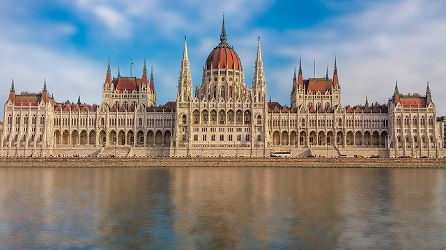 Budapest parlamentsbygning
