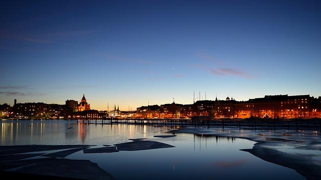 Vinter i Helsinki