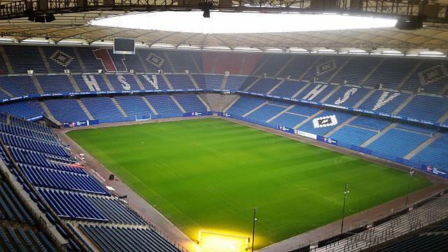 Seværdigheder i Hamborg - Volksparkstadion i Hamborg