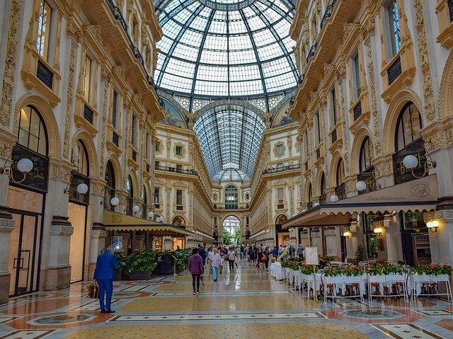 Shopping i Milano - Quadrilatero della Moda i Milano