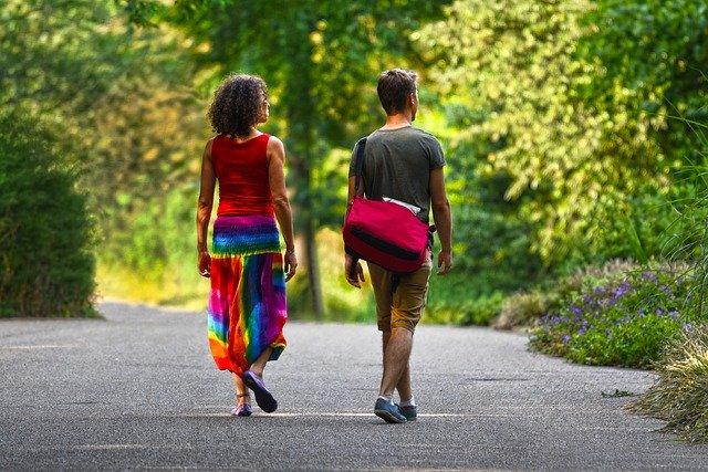 To der går tur