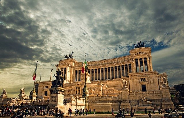 Vejret i Rom - efterår