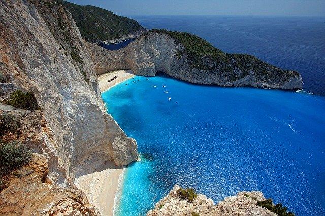 Navagio Beach, Zakynthos, Grækenland - bedste strande i Europa
