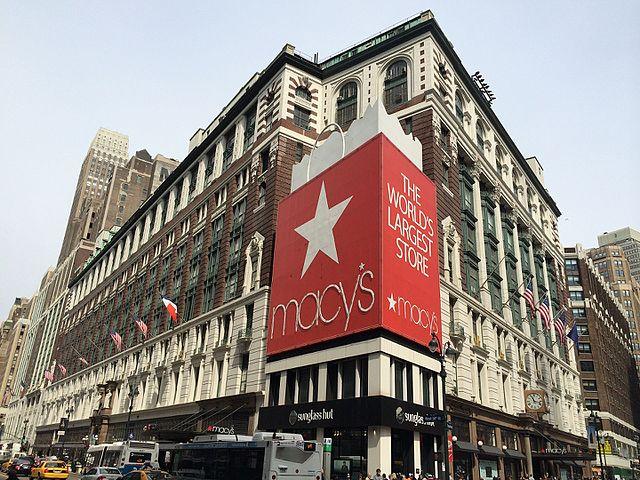 Shopping i New York - Macy's