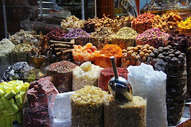 Souk krydderier Dubai