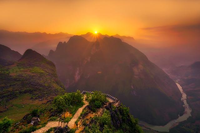 Rejse til Vietnam - Bjerge i Vietnam