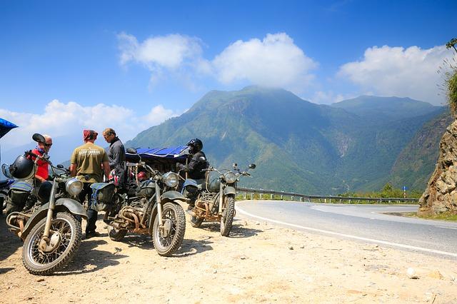 Motorcykeltur i Vietnam