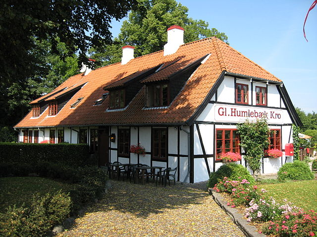 Gl. Humlebæk Kro i Danmark