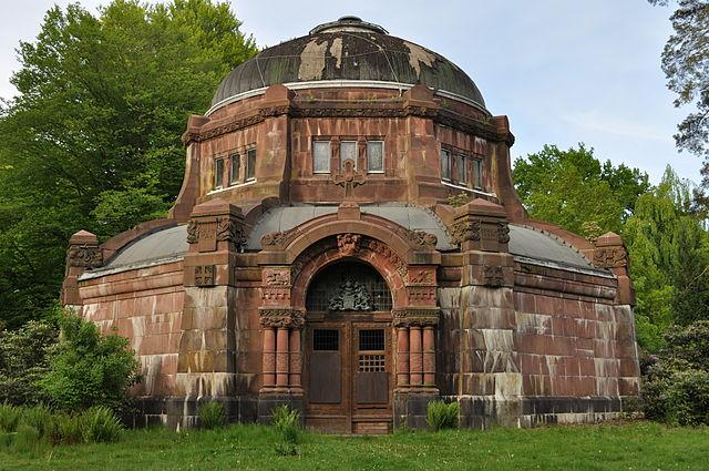 Mausoleum på Ohlsdorf kirkegård