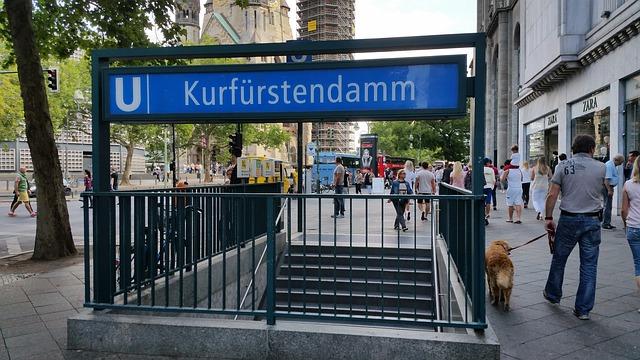 Kurfürstendamm i Berlin