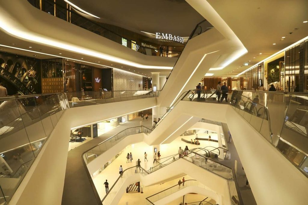 Shoppingcenter i Bangkok