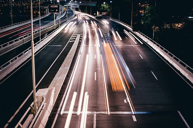 Kør-selv-ferie - motorvej