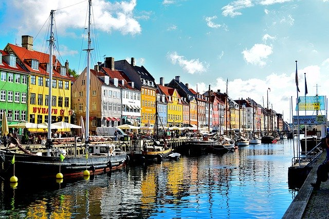 Ferie i Danmark - Nyhavn i København