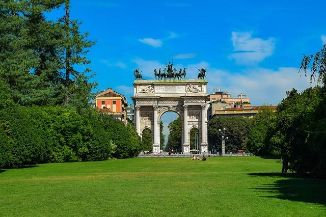 Vejret i Milano
