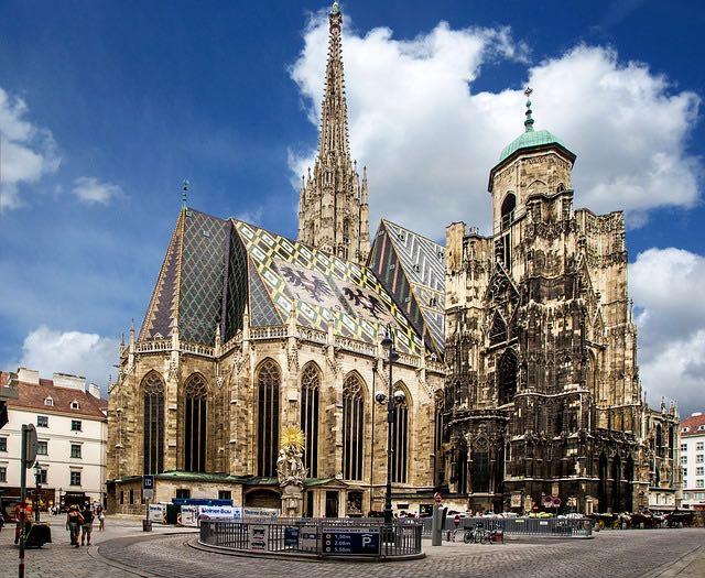 Wien kirke Stephansdom