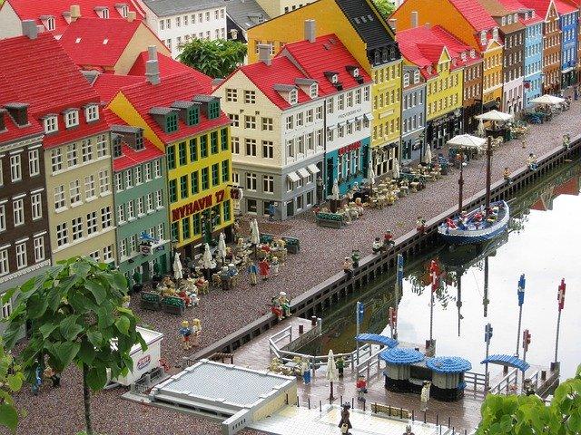 Nyhavn i Lego - LEGOLAND i Billund