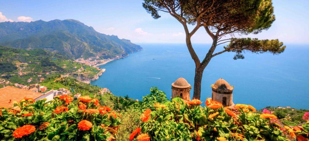 Rejse til Amalfi