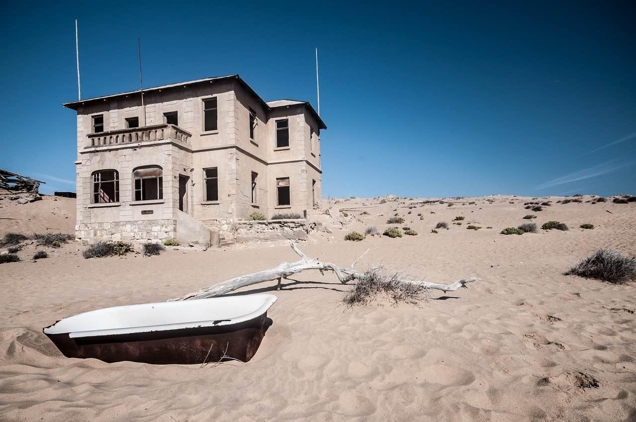 Spøgelsesbyen Kolmanskop