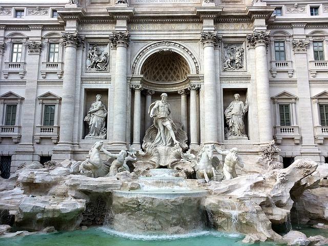 Trevifontænen i Rom