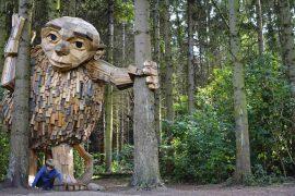 Tag på troldejagt i Danmark: Her finder du de store trækæmper