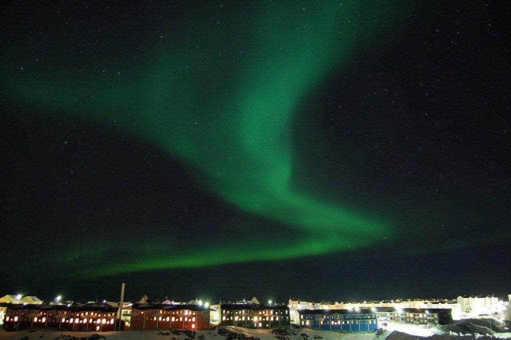 Nordlys Grønland